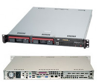 Серверная платформа 1U Supermicro SYS-5017C-TF