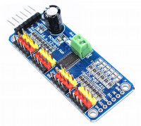Контроллер для управления сервомашинками 16 каналов, I2C, для Arduino, interface - PCA9685