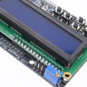 LCD дисплей LCD1602 Keypad Shield для Arduino символьный (синий)