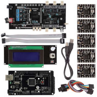 Набор электронных компонентов для сборки 3D принтера RepRap 3D Printer Kit for RepRap Mega2560+ Smart LCD 2004 Контроллер A4988 + Ultimaker 1.5.7