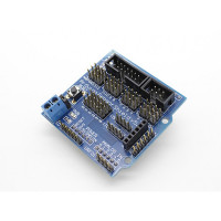 Плата расширения (Коммутационная плата) Arduino Sensor Shield V5.0 для Arduino UNO