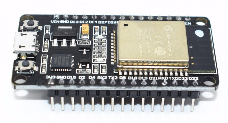 Контроллер на базе ESP32S WiFi+Bluetooth (CP2102) 30 PIN